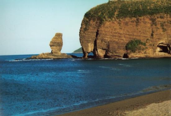 Le bonhomme et la roche percée de Bourail Nouvelle-Caledonie