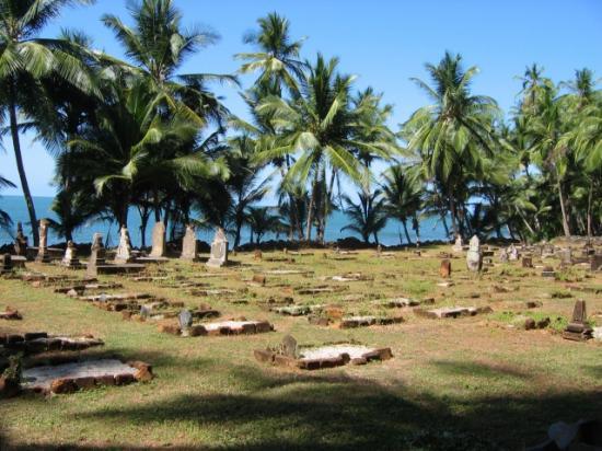 Le cimetière du bagne