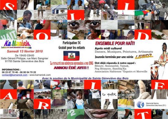 Solidarité à Haïti