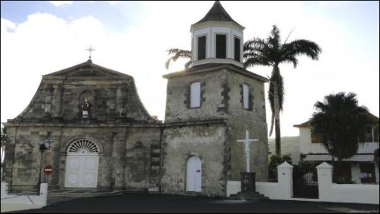 eglise du marin en martinique